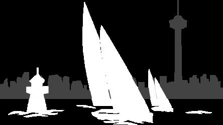 Kilpapurjehdusta Näsijärvellä